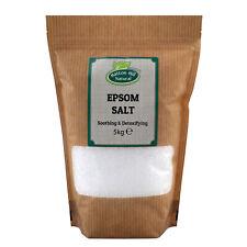 Epsom Salt   Magnesium Sulphate   BP Grade   Bath Health Garden Beauty   5kg