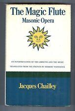 The Magic Flute, Masonic Opera - Interpretation Jacques Chailley Gollancz, HC/DJ