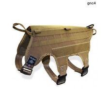 Dog Harness Vest K-9 Training Tactical Control Safety Pet Secure Adjustable Size