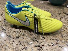 Nike Magista ACC Opus II AG Pro Cleat Volt Yellow Women's 9 844218-718