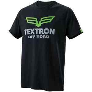 New Textron Off Road Men's Domain T-Shirt  ~ Black ~XL~ # 5288-166