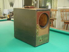 """Vintage 1940's Raytheon A-7DX22P Portable 7"""" TV for Parts or Restoration"""