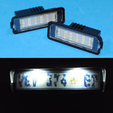 White LED License Plate Light for Volkswagen Golf MK4 MK5 MK6 Error Free