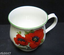 Baileys Poppy bulbosa Inglés Fine Bone China De Taza por Milton China