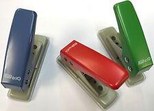 KW-TRIO in Metallo Singolo Foro 6mm DIAM Handy Punch, Perforatrice capacità 12 FOGLI