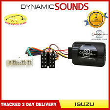 CTSIZ001.2 Steering Stalk Control Adaptor Phone Button Support For ISUZU D-Max