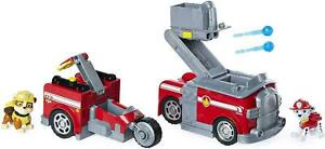 PAW Patrol Marshall Split-Second 2-in-1 Transforming Fire Truck & 2 Figures