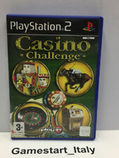 CASINO CHALLENGE - SONY PS2 - GIOCO USATO PERFETTAMENTE FUNZIONANTE - PAL