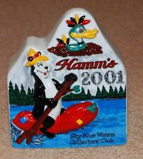 2001 HAMM'S BEER SKY BLUE WATERS COLLECTORS CLUB ANNUAL CONVENTION SOUVENIR