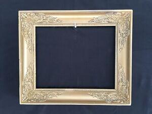 cadre ancien style renaissance feuillure 43x33 cm