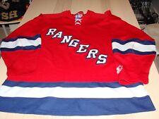 New York Rangers 3rd Third Alternate Starter Hockey Jersey Men's Xxl