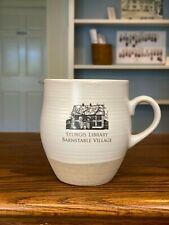 Mug Sturgis Library Barnstable Village Massachusetts Cape Cod 16 oz.