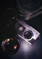 Olympus Pen F + Lens