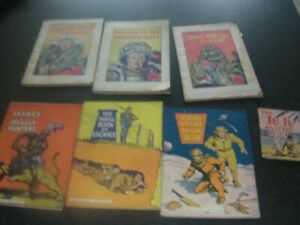 Vintage Selection of 7 x Mini Comic Supplements Presented with Adventure comic