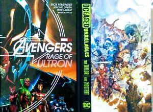 DCEASED- Unkillables & Avengers: Rage of Ultron (Hardcover 2 Book Bundle)