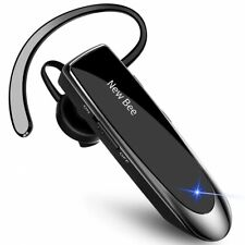 New Bee Bluetooth Wireless Handsfree Headset for iPhone Android Samsung Laptop