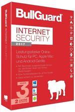 BullGuard Internet Security 2017 Multidevice, 3 Geräte - 2 Jahre, Deutsch, Downl