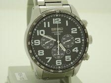 seiko solar mens chronograph watch SSC229P9