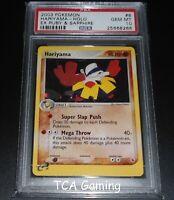 PSA 10 GEM MINT Hariyama 8/109 Ex Ruby & Sapphire HOLO RARE Pokemon Card