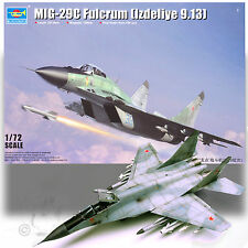 TRUMPETER 1/72 MIG-29C FULCRUM (IZDELIYE 9.13) OVER 140 PC KIT