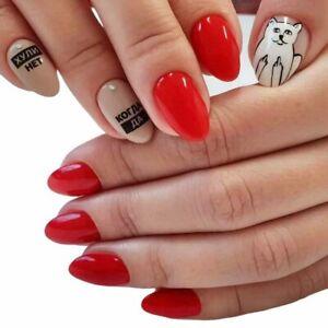 Pure Nails Sticker Slider Nail Art Design Water Transfers Decals manicure, EU