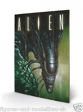 Pyramid International - Alien, Aliens Holzdruck Creep 40x60 cm