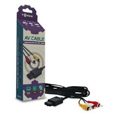 AV CABLES NEW IN BOX FOR GAMECUBE SYSTEM CONSOLE 30 DAY GUARANTEE! SHIPS FA