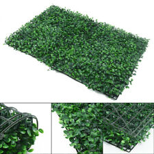 Artificial Plant Walls Foliage Hedge Grass Mat Greenery Panels Fence 40 * 60cm