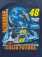 Chase Authentics Jimmie Johnson Solid Future Best In Stock Men's T-Shirt 2XL