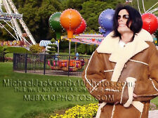 MICHAEL JACKSON WINTER AT NEVERLAND (1) RARE  PHOTO