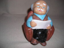 Bank - Old Man Figurine -About 5 Inch Tall - New -No Box