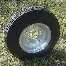 "Towmaster 480 x 8 Trailer Tire Load Range C 8"" Galvanized Rim 5 Lug 12990"