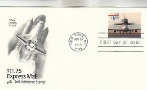 3262 $11.75 Piggyback Space Shuttle First Day Cover