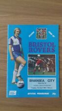 BRISTOL ROVERS V SWANSEA CITY 21ST APRIL 1981 DIVISION TWO SWANS PROMOTED