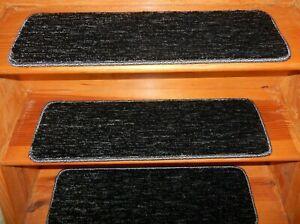 "19 Step  9"" x 30"" + 2 Landing 30"" x 30"" Stair Treads 100% Wool  Carpet"