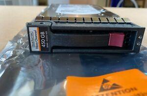 HP 454412-001 DUAL PORT 450GB 15k Fibre Channel FC Hard Drive