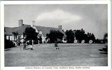 SOUTHERN PINES, North Carolina  NC    COUNTRY CLUB Archery Practice  Postcard