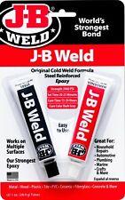More details for jb weld original cold weld steel reinforced epoxy glue strong bond jb8265