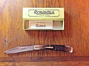VINTAGE 1992 REMINGTON UMC R1253 DELRIN REMSTAG GUIDE NS BULLET POCKET KNIFE