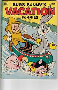 DELL: BUGS BUNNY'S VACATION FUNNIES #2 (1952)
