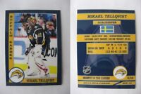2015 SCA Mikael Tellqvist Buffalo Sabres goalie never issued produced #d/10