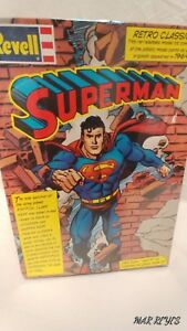 """DC's """"SUPERMAN The Man of Steel 1/8 scale Retro Classic model kit by REVELL"""