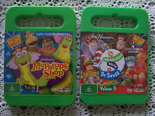 BN....**2** Jim Henson Childrens Dvd's....Mopatop's Shop & Dr. Seuss....
