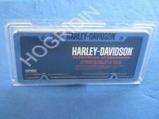 Harley Davidson script license plate frame truck car sportster dyna softail FLT