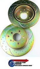 EBC Dimpled & Grooved Rear Brake Discs x2- For R34 GTT Skyline RB25DET Neo