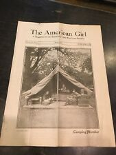 "Rare Early Girl Scout Magazine ""The American Girl 1921"""
