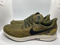 Nike Air Zoom Pegasus 35 Running Shoes Olive Green Camo Men SZ 12 AT9974-301 New