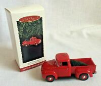 Hallmark Keepsake Ornament 1956 Ford Truck 1st in the All American Truck Series