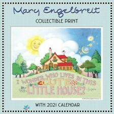 Mary Engelbreit Collectible Print With 2021 Calendar, Paperback, Brand New, F.