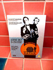 Man from U.N.C.L.E. 5 Feature Films Region 2 Non USA 3 DVD set Robert Vaughn